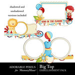 Big Top Cluster Pack-$2.00 (Adorable Pixels)