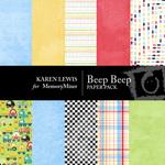 Beep Beep Paper Pack-$3.99 (Karen Lewis)