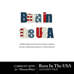 Born In The USA Alpha Pack-$3.49 (Carolyn Kite)