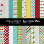 December Days Paper Pack-$3.49 (Adorable Pixels)