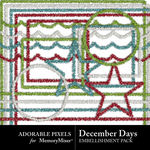 December Days Tinsel Pack-$1.99 (Adorable Pixels)