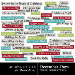Decemberdays wordstrips600 medium