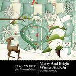 Merry And Bright CK Winter Combo Pack-$3.99 (Carolyn Kite)