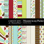 Monster In My Pocket Paper Pack-$2.10 (Carolyn Kite)