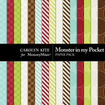Monster In My Pocket Paper Pack 2-$2.10 (Carolyn Kite)
