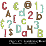 Monster In My Pocket Alpha Pack-$1.80 (Carolyn Kite)