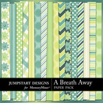 A Breath Away Paper Pack-$3.49 (Jumpstart Designs)