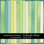 A Breath Away Embossed Paper Pack-$3.49 (Jumpstart Designs)
