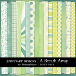 A Breath Away Add On Paper Pack-$3.49 (Jumpstart Designs)