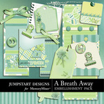 A Breath Away Journals-$2.49 (Jumpstart Designs)