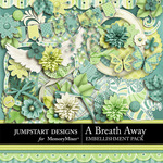 A Breath Away Embellishment Pack-$4.99 (Jumpstart Designs)