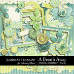 A Breath Away Add On Embellishment Pack-$3.99 (Jumpstart Designs)