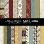 Globe Trotter Paper Pack-$3.49 (Adorable Pixels)