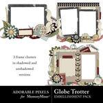 Globe Trotter Cluster Pack-$2.49 (Adorable Pixels)