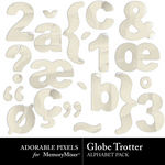 Globe Trotter Alpha Pack-$0.99 (Adorable Pixels)
