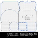 Precious Baby Boy Mats and Journal Packs-$2.99 (Carolyn Kite)