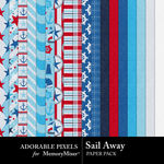 Sail Away Paper Pack-$3.49 (Adorable Pixels)