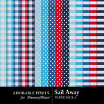 Sail Away Paper Pack 2-$3.49 (Adorable Pixels)