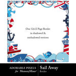 Sail Away Free Border-$0.00 (Adorable Pixels)