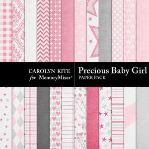Preciousbabygirl paperpack medium