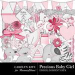 Preciousbabygirl embellishmentpack small
