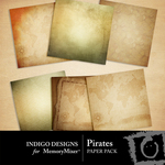 Pirates Paper Pack-$2.99 (Indigo Designs)