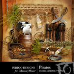 Pirates Embellishment Pack-$2.99 (Indigo Designs)