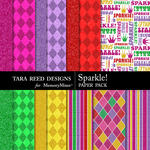 Sparkle Paper Pack-$2.99 (Tara Reed Designs)