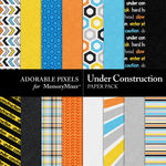 Under Construction Paper Pack-$3.49 (Adorable Pixels)