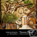 Treasure Hunter Embellishment Pack-$2.99 (Indigo Designs)