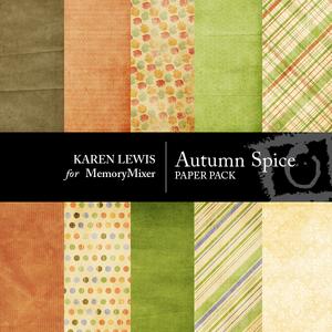 Autumn spice paper large medium