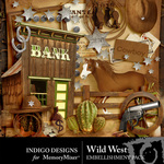 Wild West Embellishment Pack-$2.99 (Indigo Designs)