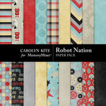 Robot Nation Paper Pack-$3.49 (Carolyn Kite)