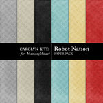 Robot Nation Paper Pack 2-$3.49 (Carolyn Kite)
