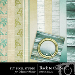 Back To The Sea Paper Pack-$1.75 (Fly Pixel Studio)