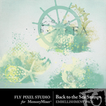 Back To The Sea Stamps-$1.00 (Fly Pixel Studio)