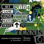Tennis Mini Kit-$3.99 (Albums to Remember)