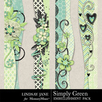 Simply Green Borders-$1.99 (Lindsay Jane)