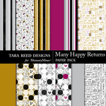 Many Happy Returns Paper Pack-$2.99 (Tara Reed Designs)