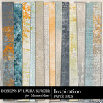 Inspiration Pattern Paper Pack-$3.49 (Laura Burger)