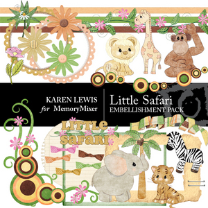 Little safari embells large medium