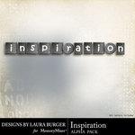 Inspiration Alpha Pack-$0.99 (Laura Burger)