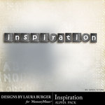 Inspiration Alpha Pack-$0.99 (Laura Burger)