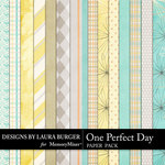 One Perfect Day Paper Pack-$3.49 (Laura Burger)