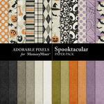 Spooktacular AP Paper Pack-$1.75 (Adorable Pixels)