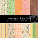 Little Safari Paper Pack-$4.00 (Karen Lewis)