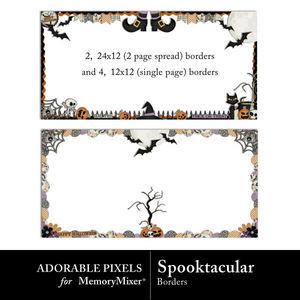 Spooktacular borderpack600 medium