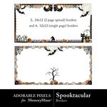 Spooktacular AP Borders-$2.49 (Adorable Pixels)