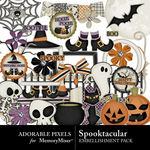 Spooktacular AP Embellishment Pack-$3.49 (Adorable Pixels)