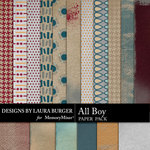 All Boy Paper Pack-$1.40 (Laura Burger)